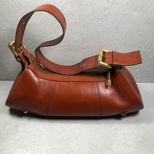 Maxx New York Whiskey Leather Small Shoulder Bag